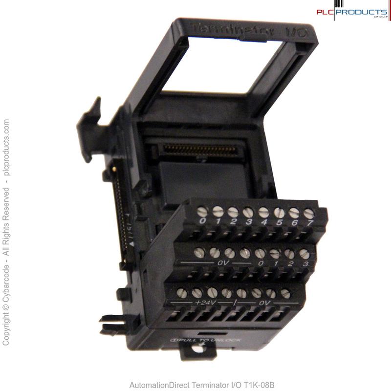 Automation Direct Model T1K-08B I//O Base.